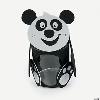 Panda Jar Craft Kit