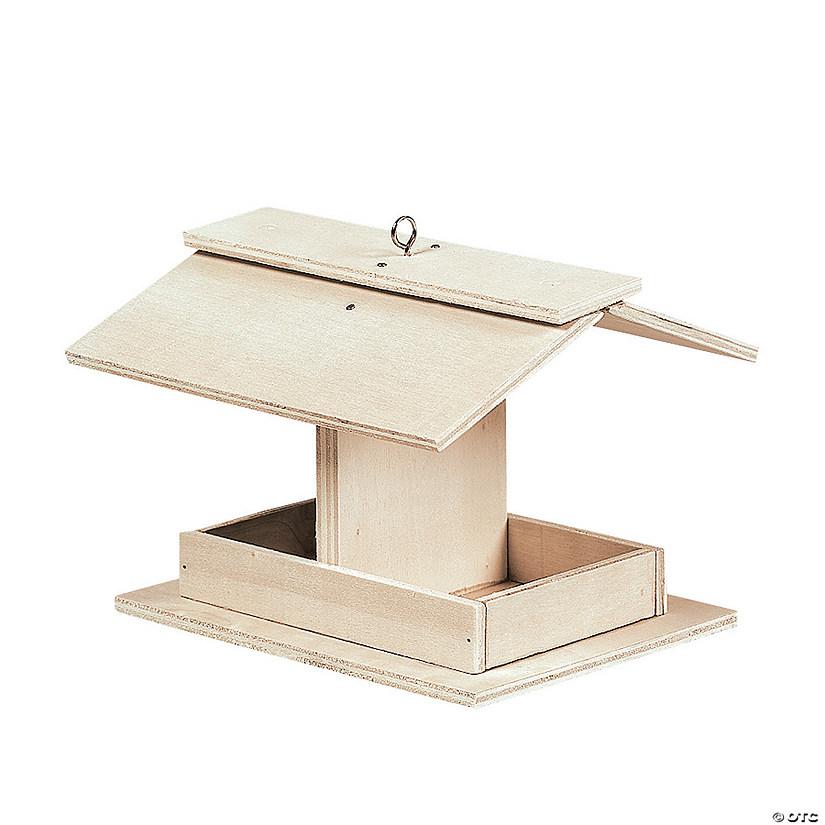 DIY Unfinished Wood Bird Feeder Kits
