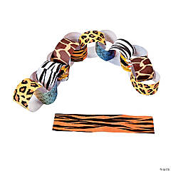 Animal Print Paper Chain Craft Kit