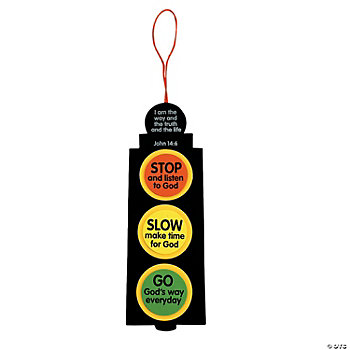 Inspirational Traffic Light Craft Kit