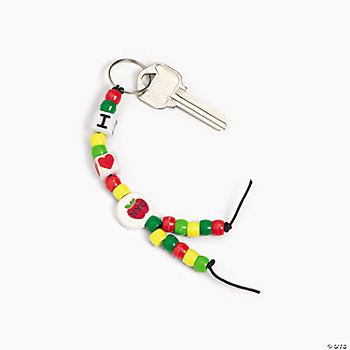 Beaded New York Key Chain Craft Kit