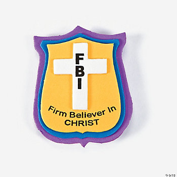 """Firm Believer In Christ"" Pin Craft Kit"