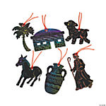 Magic Color Scratch Nazareth Ornaments