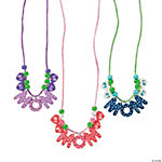 "Beaded ""#1 Mom"" Necklace Craft Kit"