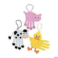 Farm Animal Handprint Craft Kit