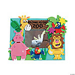 Zoo Photo Frame Magnet Craft Kit