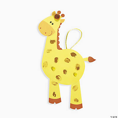 Thumbprint Giraffe Craft Kit