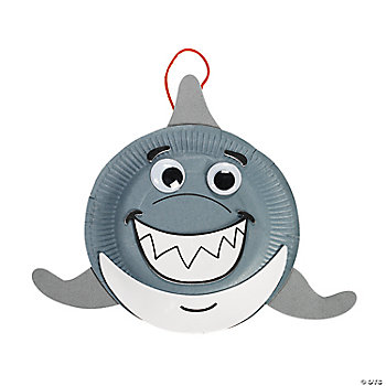 Paper Plate Shark Craft Kit