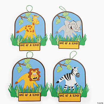 Zoo Animal Handprint Craft Kit