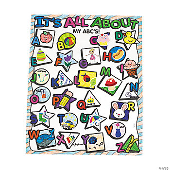 "Color Your Own ""All About My ABCs"" Posters"