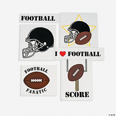 Football Iron-On Transfers