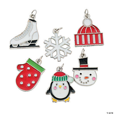 Wonderful Winter Enamel Charms
