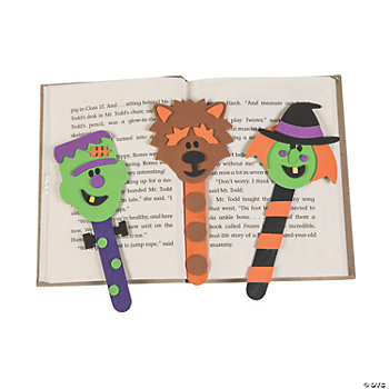 Halloween Bookmark Craft Kit