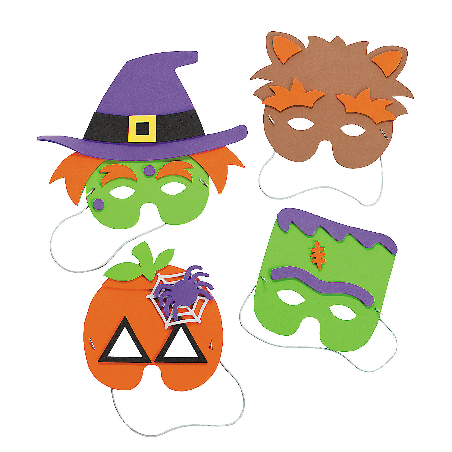 Halloween+Mask+Craft+Kit+-+OrientalTrading.com