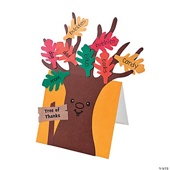 """Tree Of Thanks"" Card Craft Kit"