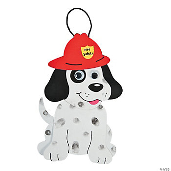 24 Fire Safety Dalmatians Craft Kit