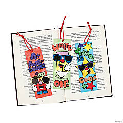 "Color Your Own ""School Is Cool"" Bookmarks"