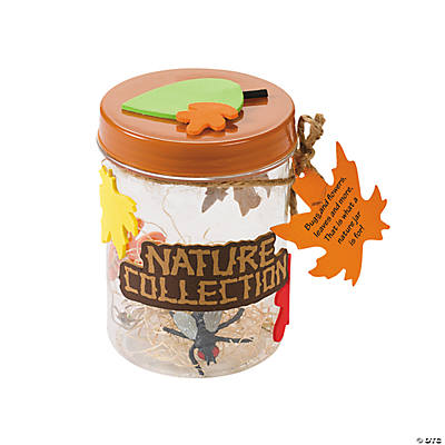 Fall Nature Collecting Jar Craft Kit