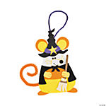 Candy Corn Mouse Witch Ornament Craft Kit