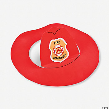 Fireman Hats Craft Kit