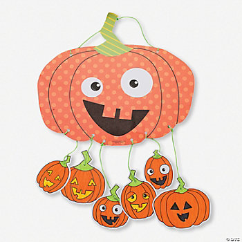 Pumpkin Mobile Craft Kit
