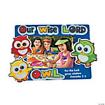 Inspirational Wise Owl Photo Frame Magnet Craft Kit