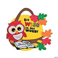 Inspirational Wise Owl Ornament Craft Kit