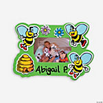 24 Bee Picture Frame Magnets Craft Kit