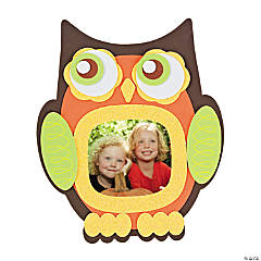 Owl Photo Frame Magnet Craft Kit