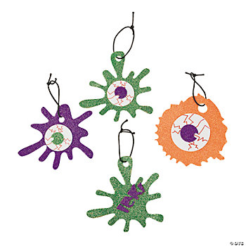 Eyeball Glitter Ornament Craft Kit