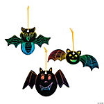 Magic Color Scratch Bat Ornaments