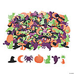 Glitter Self-Adhesive Halloween Shapes