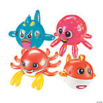 Inflatable Ocean Creature-Shaped Beach Balls