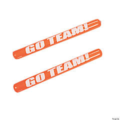 Orange Inflatable Go Team Noisemaker Sticks