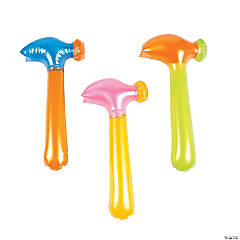 Inflatable Neon Hammers