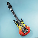 Inflatable Flame Guitars