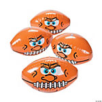 Inflatable Crazy Face Football Beach Balls
