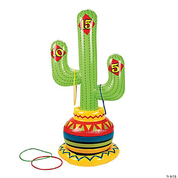 Inflatable Fiesta Ring Toss Game