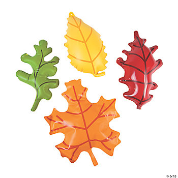 12 Inflatable Hanging Leaves