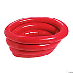 Red Inflatable Tub Cooler