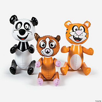Inflatable Panda & Friends Characters