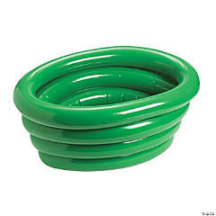 Green Inflatable Tub Cooler