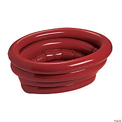 Burgundy Inflatable Tub Cooler