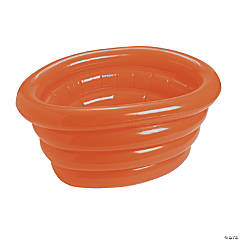 Orange Inflatable Tub Cooler
