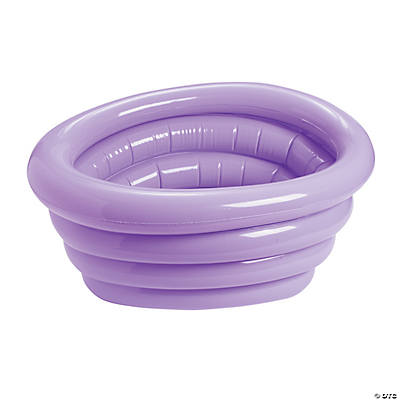 Lilac Inflatable Tub Cooler