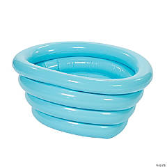 Inflatable Light Blue Tub Cooler