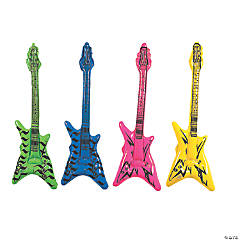 "Inflatable ""V"" Guitars"