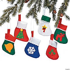 Mini Holiday Stockings
