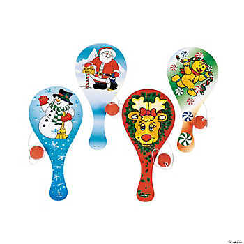 Holiday Paddleball Games