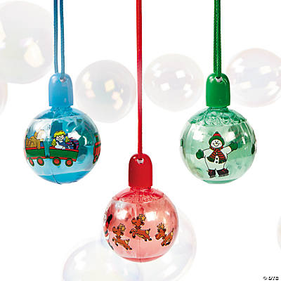 Holiday Bubble Bottle Necklaces